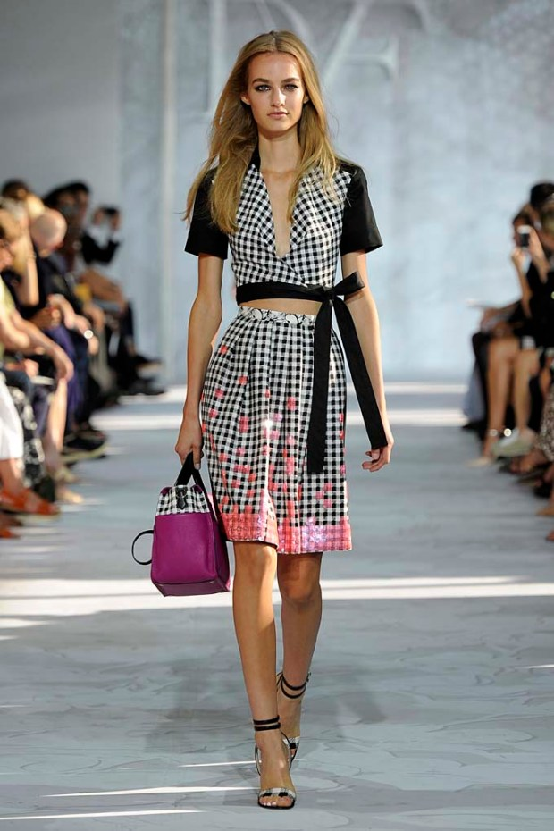 DVF New York Fashion Week  Spring Summer 15 New York September 2014
